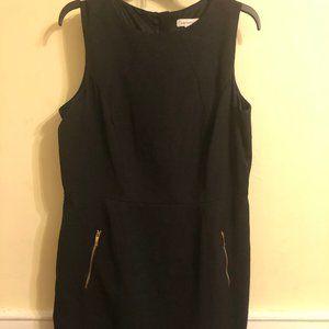 Plus Sleeveless Midi Dress